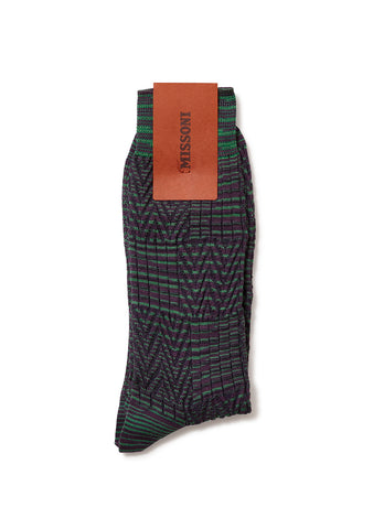 Missoni Purple Socks