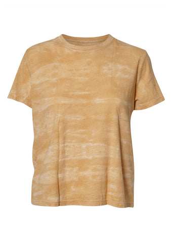 Raquel Allegra Mellow Yellow Tie Dye Boy Tee shop online