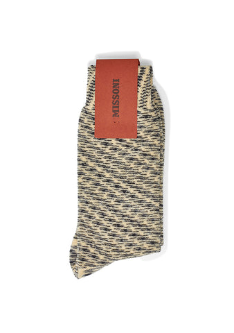 Missoni Black & Yellow Terry Socks shop online at lot29.dk