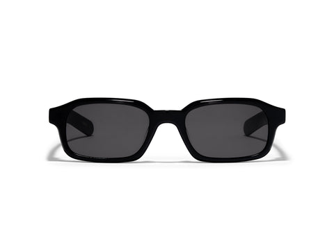 Hanky Solid Black Sunglasses