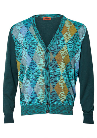 Missoni Men Harlequin Cardigan shop online at lot29.dk