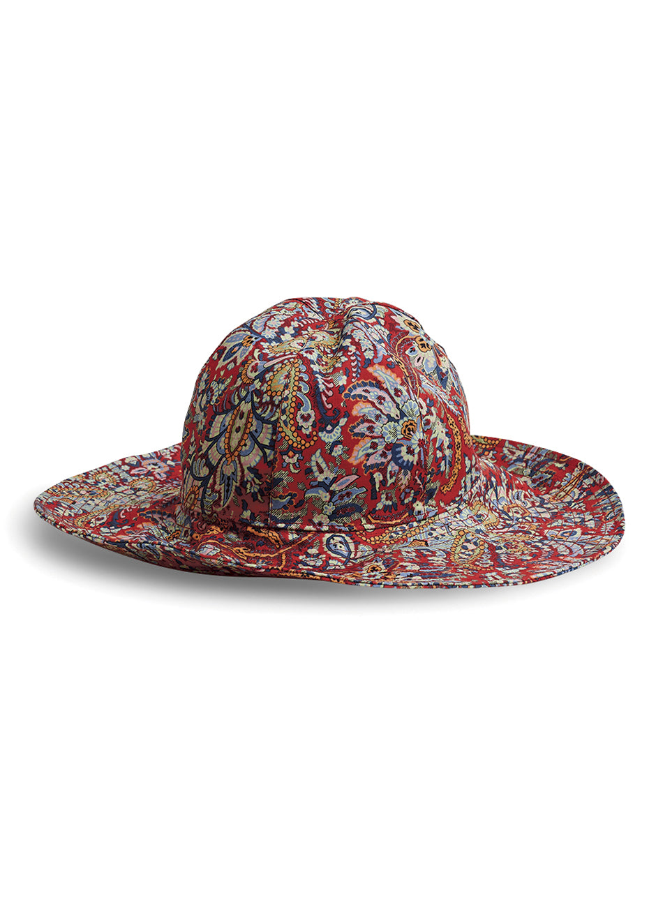 Red Printed Hat