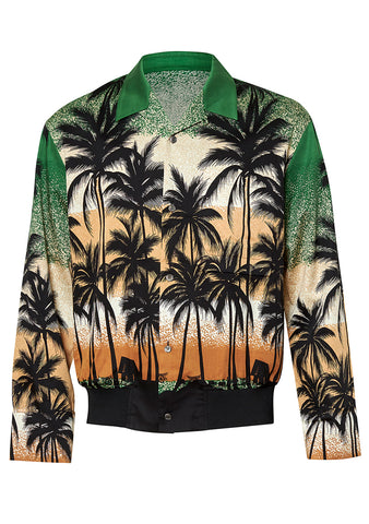 Wooyoungmi Long Sleeve Palm Tree Shirt shop at lot29.dk