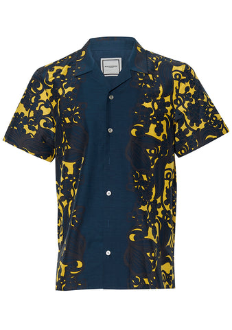 Wooyoungmi Floral Short Sleeve Shirt shop at lot29.dk