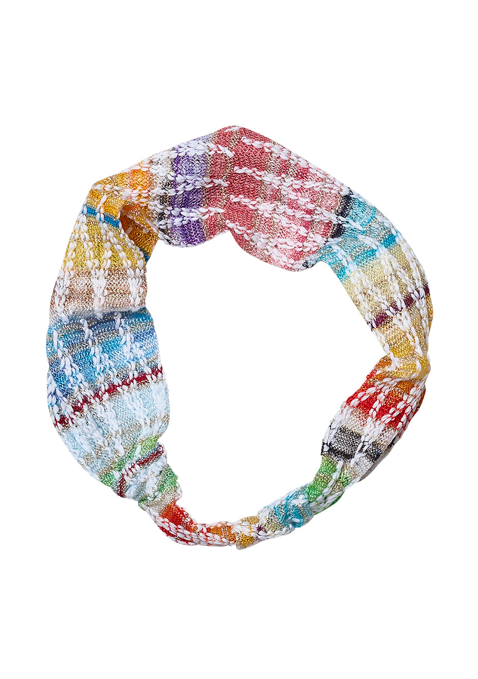 Multicolored Lamé Headband