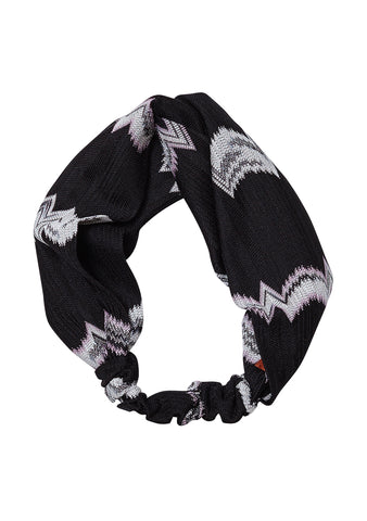 Missoni Black Headband