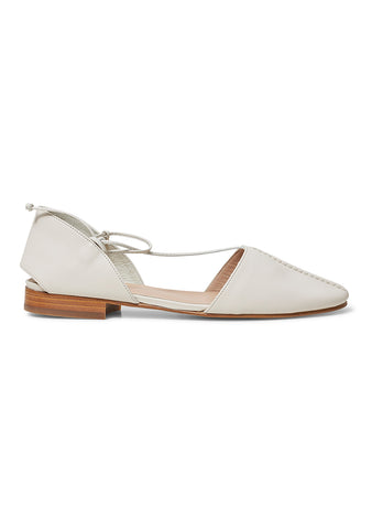Hereu Badia Off White Flats
