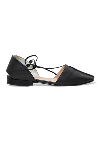 Hereu Badia Black Flats