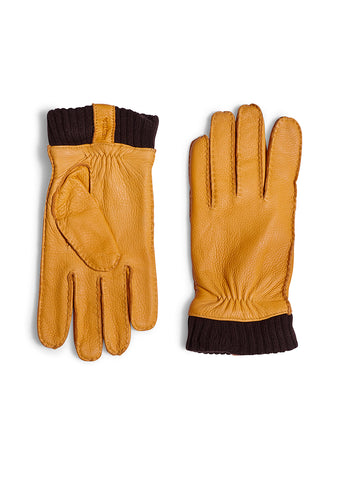 Hestra Yellow Vale Elk Leather Gloves