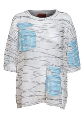 Missoni Open Knit Linen Top