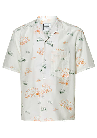 Wooyoungmi Paradise Short Sleeve Shirt shop at lot29.dk