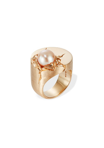 Danger Jewels Rose Gold Impact Ring