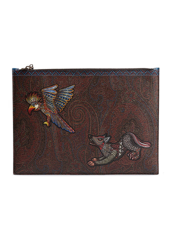Etro Printed Animal Ipad Case