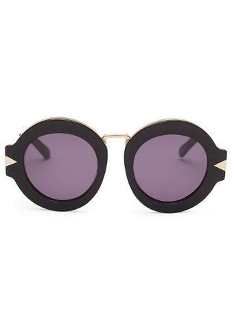 Maze Black & Gold Sunglasses
