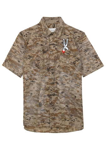 Tonsure Desert Camo Kidd Shirt shop online at lot29.dk