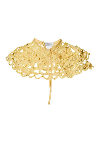 Cayden Canary Embroidered Collar