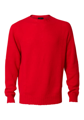Poppy Red Cashmere Sweater