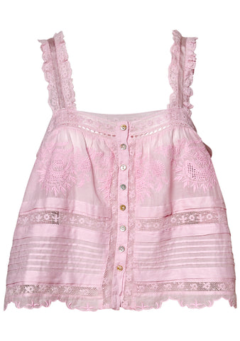 Sully Light Pink Top