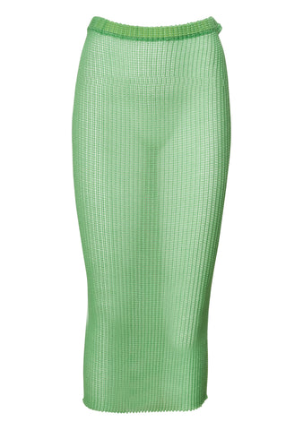 Tube Acid Green Skirt