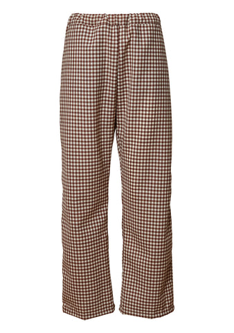 Leandra Check Pants