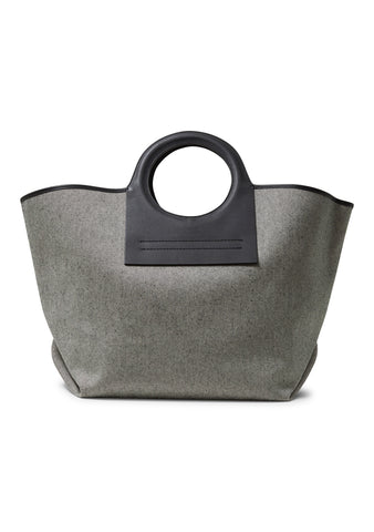 Cala Beige Canvas Tote Bag