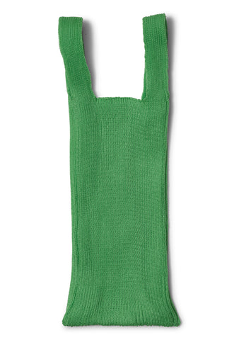 Acid Green Knit Bag