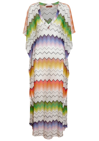 Zigzag Kaftan Dress