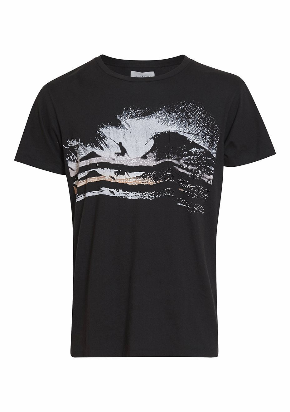 Night Surf Pocket Tee