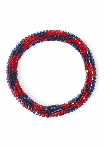 Aprosio & Co. Red and Blue Bracelet
