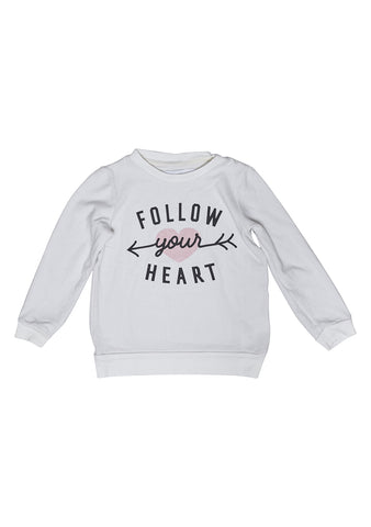 Sol Angeles Kids Heart Sweatshirt