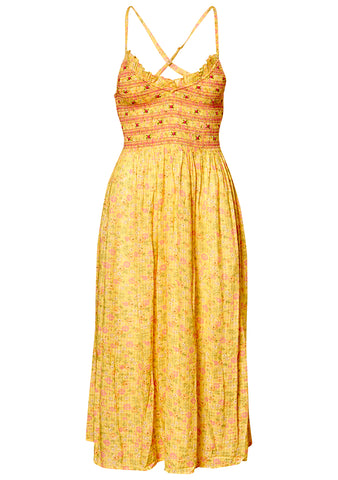 Canyon Butter Yellow Dress