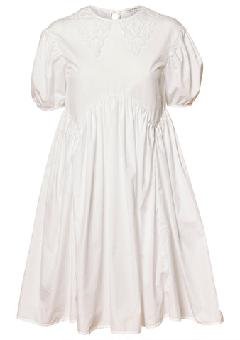 Malou Embroidered Cotton Dress