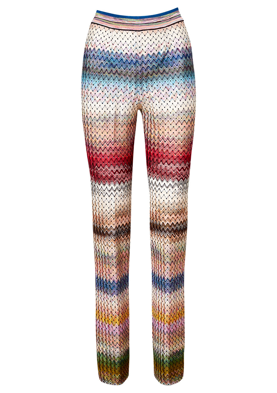 Colorful Wool Pants