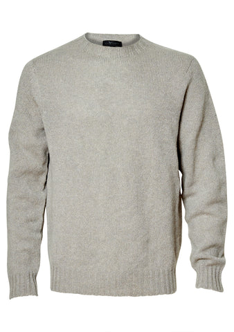 Felt Grey Cashmere Sweater