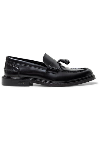 Chico Black Tassel Loafer