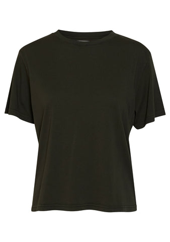 Jeanerica Luz 120 Military Green Women's Tee