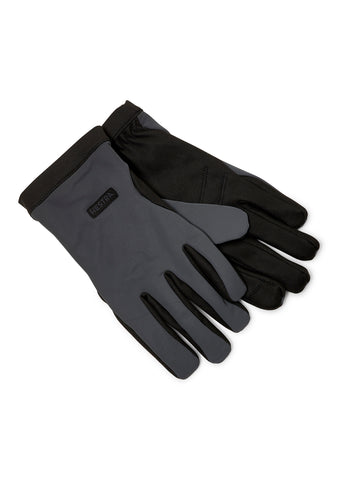 Mason Dark Grey & Black Gloves
