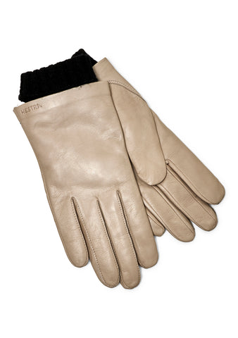 Megan Nature Grey Gloves