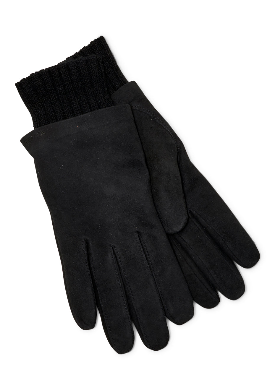 Megan Black Suede Gloves