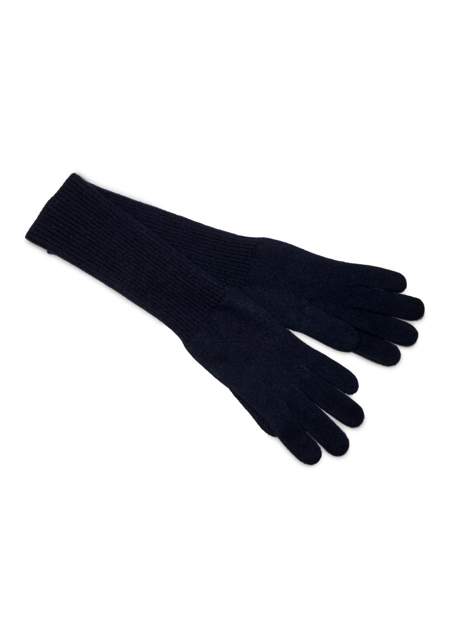 Ladies Cashmere Long Marine Gloves