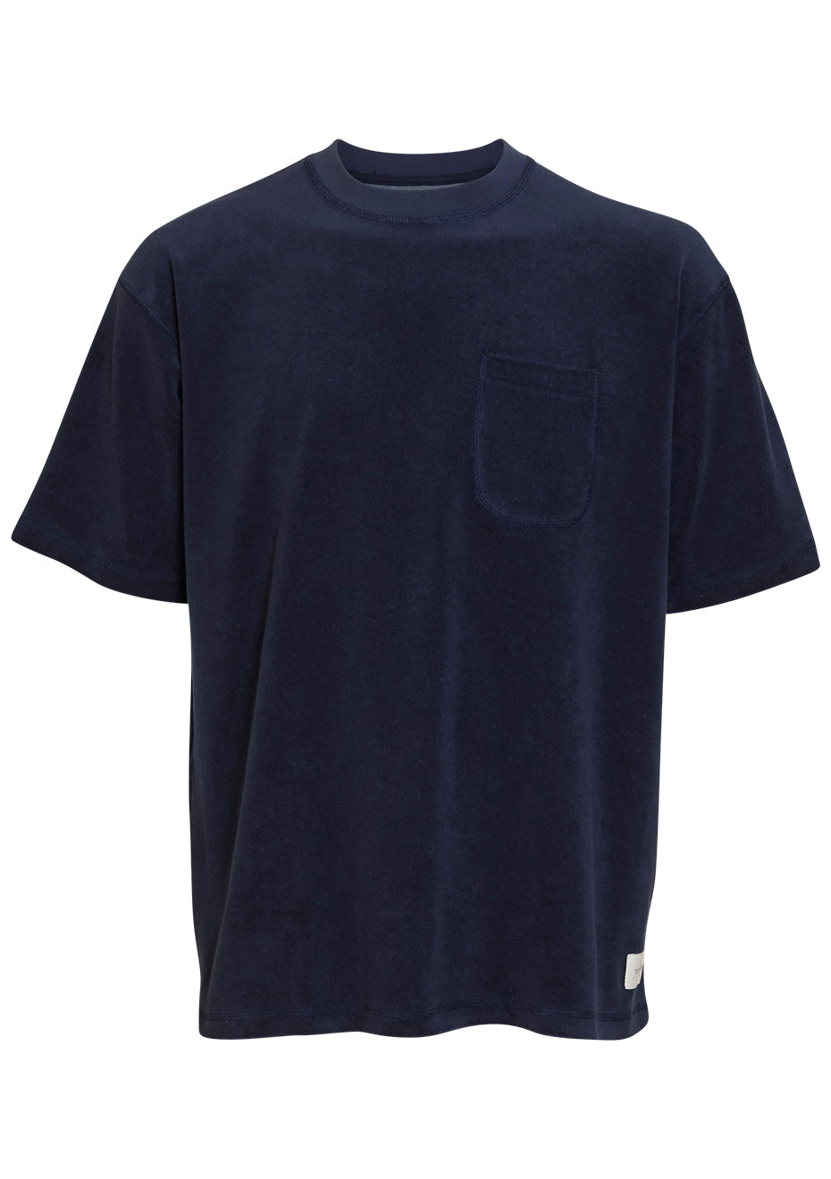 Dark Navy Terry Boxy T-shirt