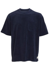 Tonsure Dark Navy Terry Boxy T-shirt