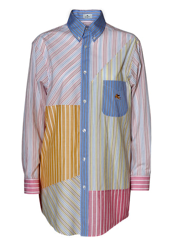 Striped Multi Pegaso Shirt