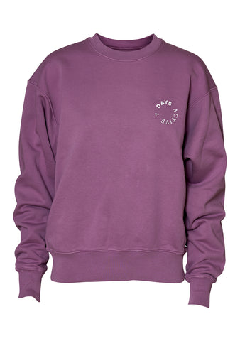 Faded Purple Crew Neck