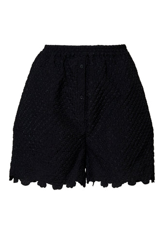 Kim Black Pleated Shorts