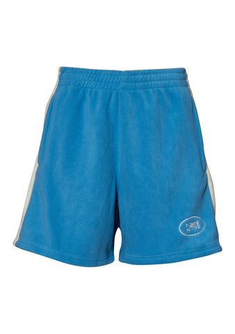 Light Blue Fleece Shorts