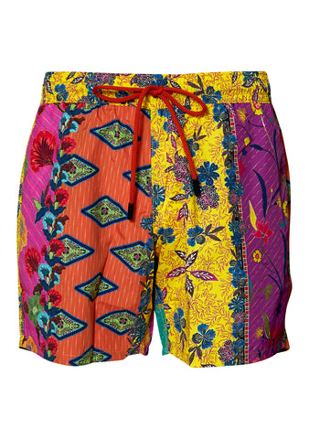 Multi Colored Swim Shorts