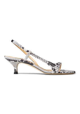 St. Germain Snake Print Sandals