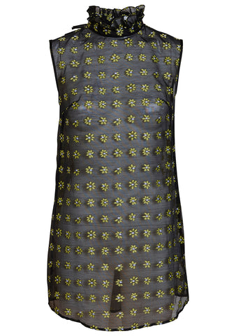 Cecilie Bahnsen Netti Floral Fil Coupe Sleeveless Shirt