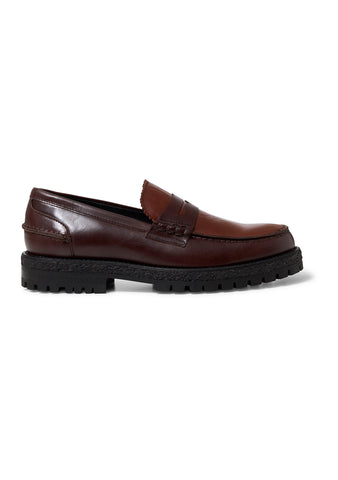 Le Marais Chunky Brown Loafer